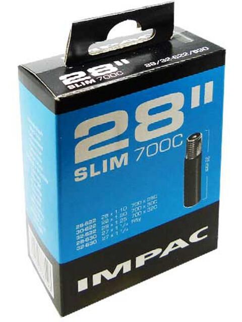 "Impac Slim Inner Tube 28"" black"